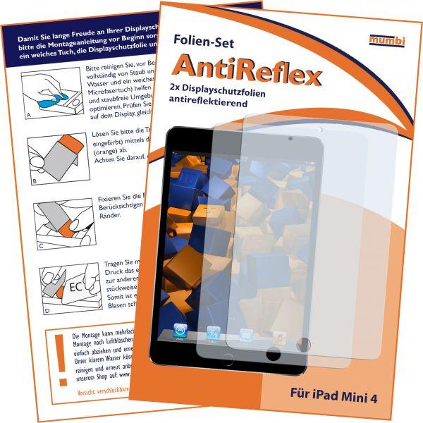 Displayschutzfolie 2 Stck. AntiReflex für Apple iPad mini 4 (2015)