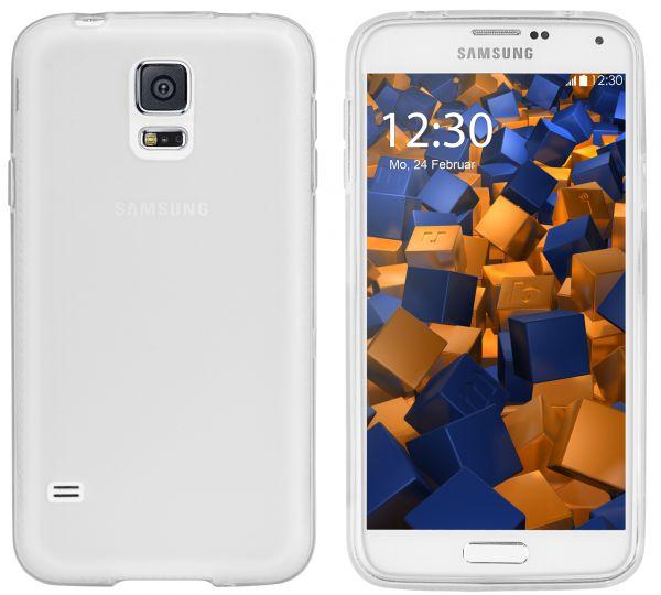 TPU Hülle weiß transparent für Samsung Galaxy S5 / S5 Neo