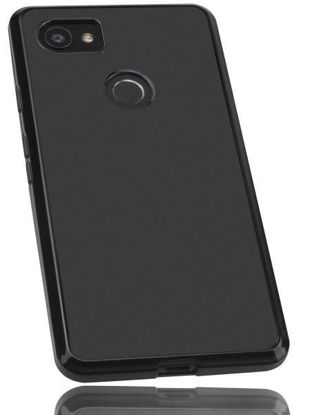 TPU Hülle schwarz für Google Pixel 2 XL