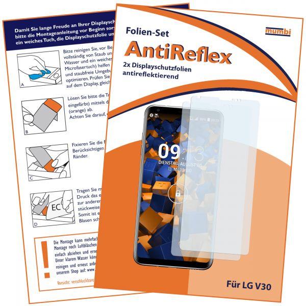 Displayschutzfolie 2 Stck. AntiReflex für LG V30 / V30S ThinQ