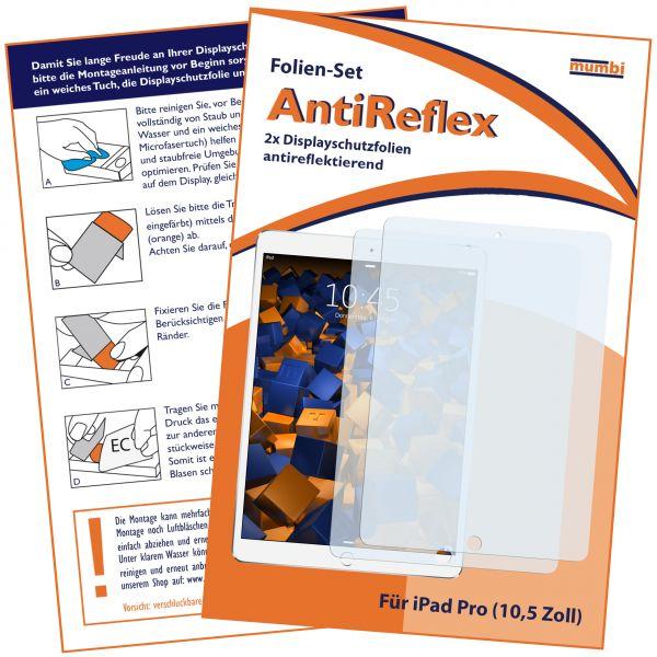 Displayschutzfolie 2 Stck. AntiReflex für Apple iPad Pro (10,5 Zoll)