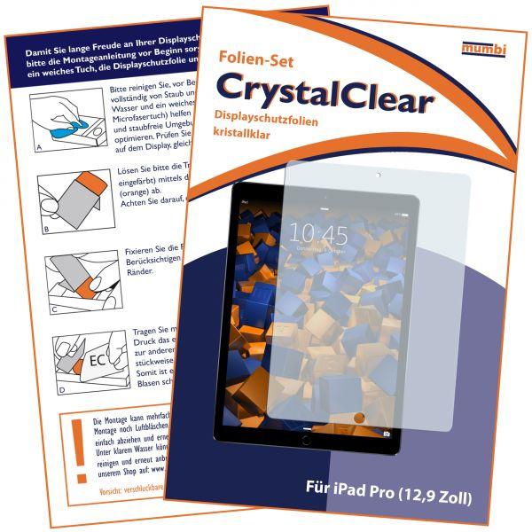 Displayschutzfolie CrystalClear für Apple iPad Pro (12,9 Zoll)
