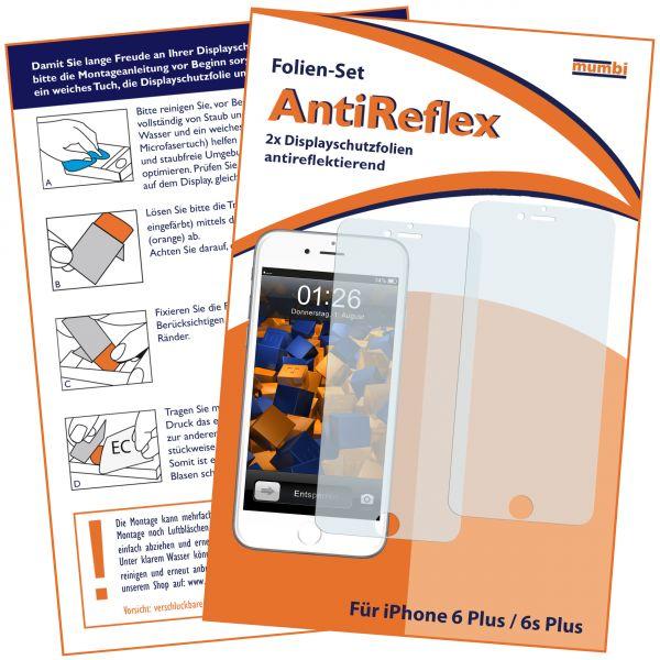 Displayschutzfolie 2 Stck. AntiReflex für Apple iPhone 6 Plus / 6s Plus