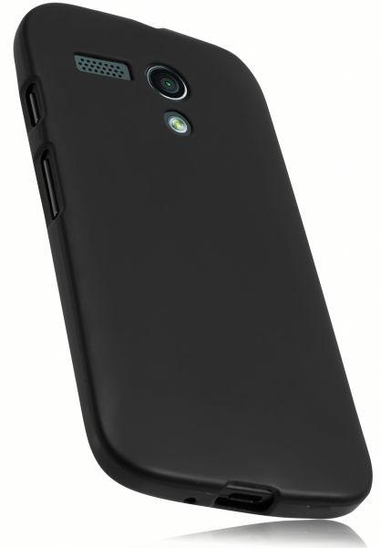 TPU Hülle schwarz für Motorola Moto G