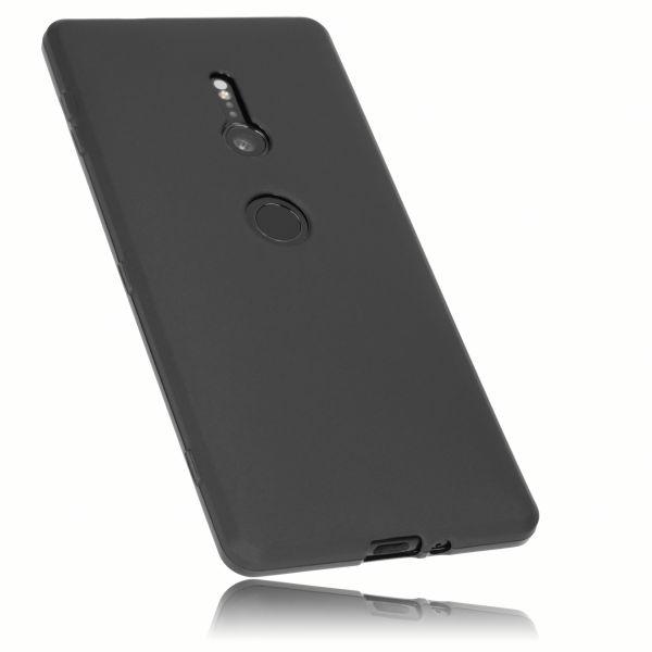 TPU Hülle schwarz für Sony Xperia XZ2