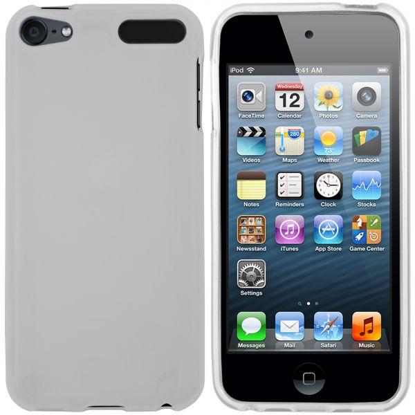 TPU Hülle weiß transparent für Apple iPod Touch 5G / 6G