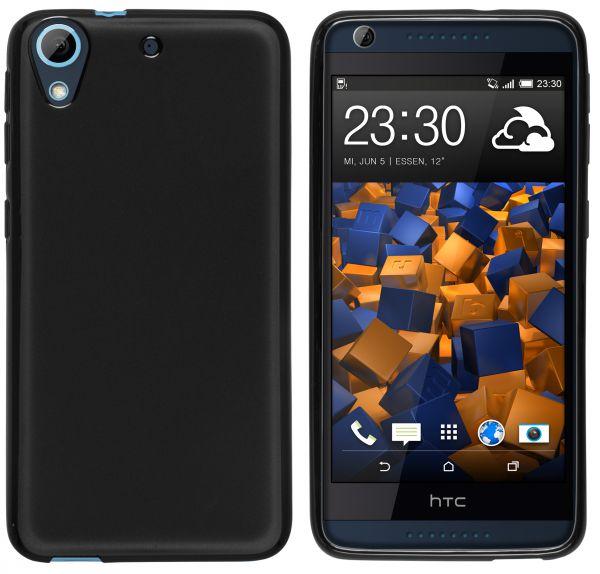 TPU Hülle schwarz für HTC Desire 626G