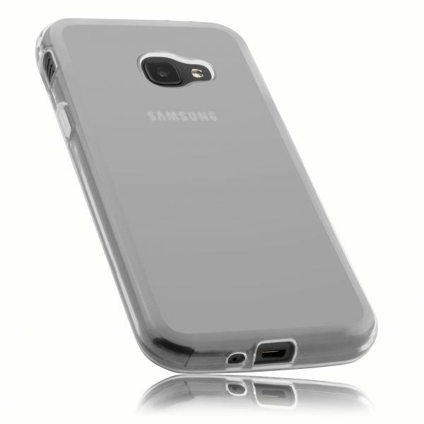 TPU Hülle weiß transparent für Samsung Galaxy Xcover 4