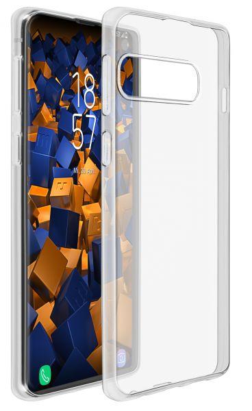 TPU Hülle Ultra Slim transparent für Samsung Galaxy S10