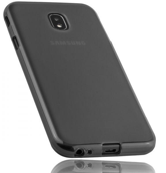 TPU Hülle schwarz transparent für Samsung Galaxy J3 (2017)