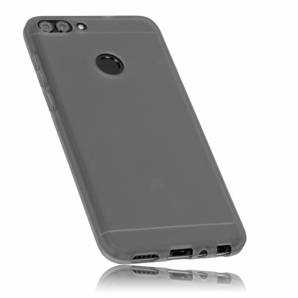 TPU Hülle schwarz transparent für Huawei P Smart