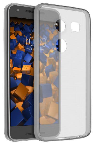 TPU Hülle Ultra Slim schwarz transparent für LG Google Nexus 5X