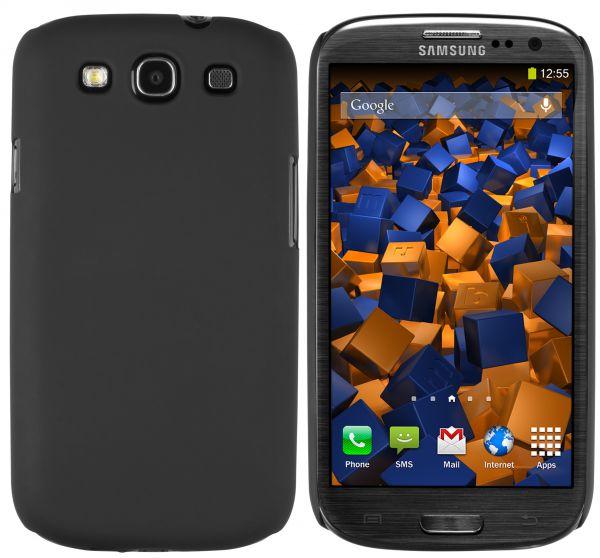 Hard Case Hülle schwarz für Samsung Galaxy S3 / S3 Neo