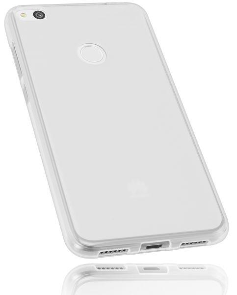 TPU Hülle weiß transparent für Huawei P8 Lite (2017)