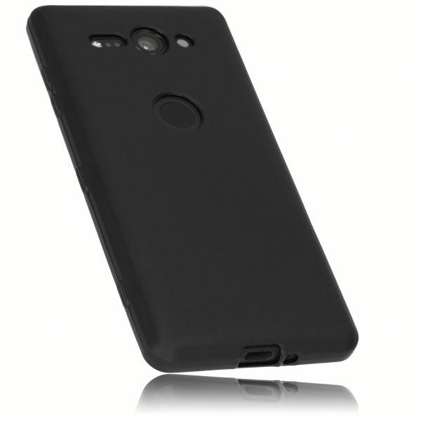 TPU Hülle schwarz für Sony Xperia XZ2 Compact