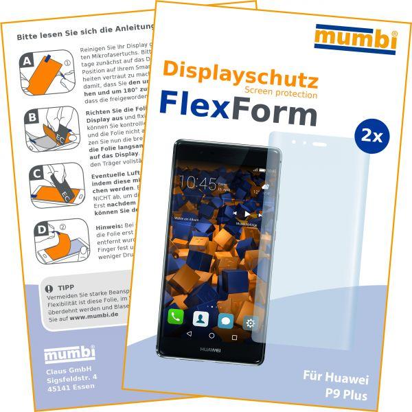 Displayschutzfolie 2 Stck. FlexForm für Huawei P9 Plus