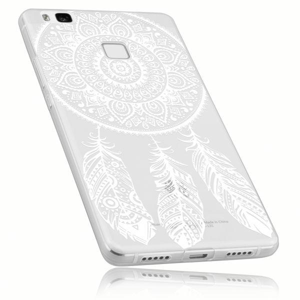 TPU Hülle Ultra Slim transparent Motiv Traumfänger für Huawei P9 Lite