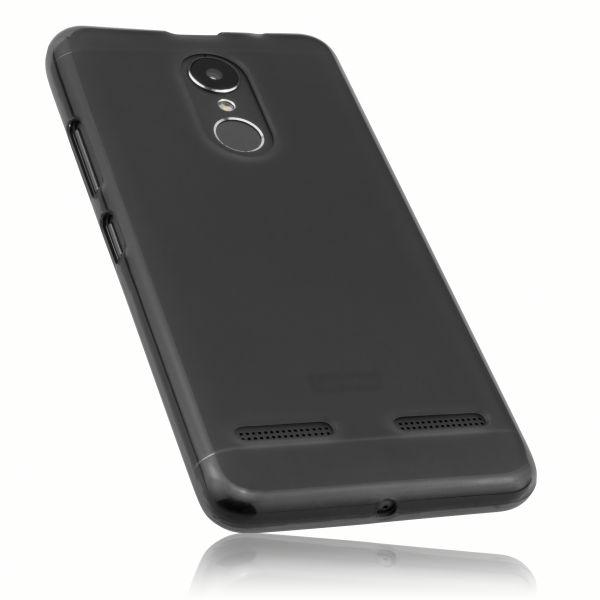 TPU Hülle schwarz transparent für Lenovo K6
