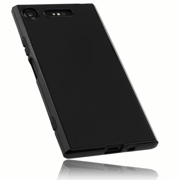 TPU Hülle schwarz für Sony Xperia XZ1
