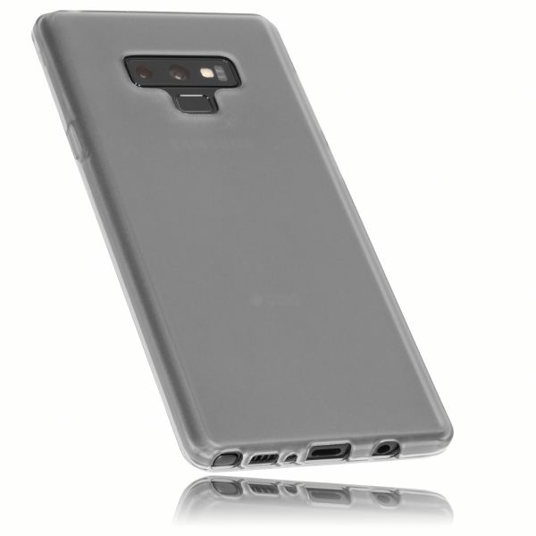 TPU Hülle schwarz transparent für Samsung Galaxy Note 9
