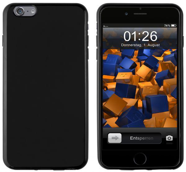 TPU Hülle schwarz für Apple iPhone 6 Plus / 6s Plus
