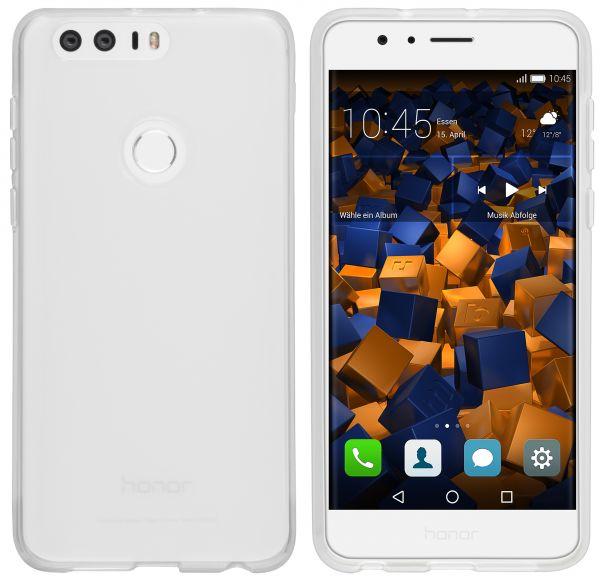 TPU Hülle weiß transparent für Huawei Honor 8