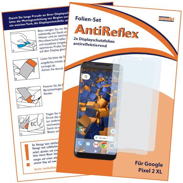 Displayschutzfolie 2 Stck. AntiReflex für Google Pixel 2 XL