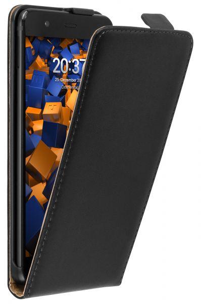 Flip Case Tasche schwarz für Huawei P10 Plus