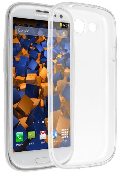 TPU Hülle Ultra Slim transparent für Samsung Galaxy S3 / Galaxy S3 Neo