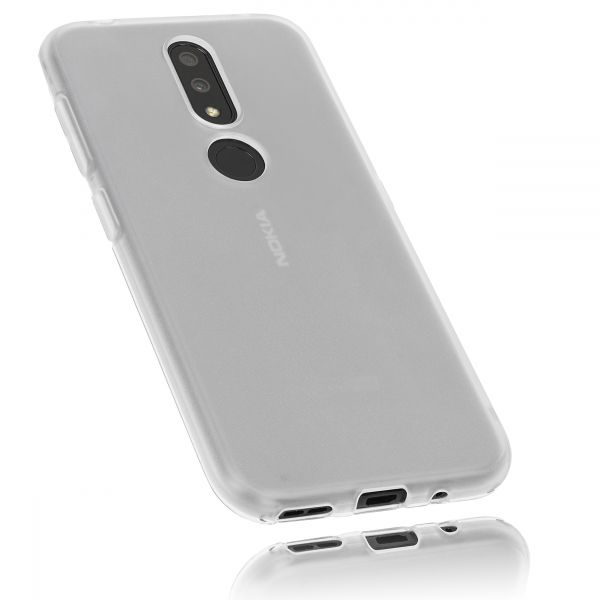 TPU Hülle weiß transparent für Nokia 4.2