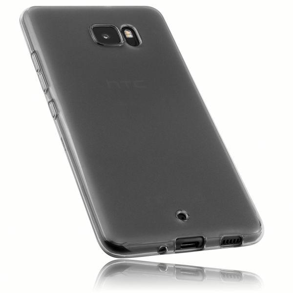 TPU Hülle schwarz transparent für HTC U Ultra