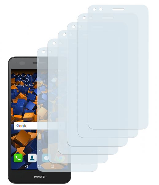 Displayschutzfolie 6 Stck. CrystalClear für Huawei Y6 Pro (2017) / P9 Lite mini