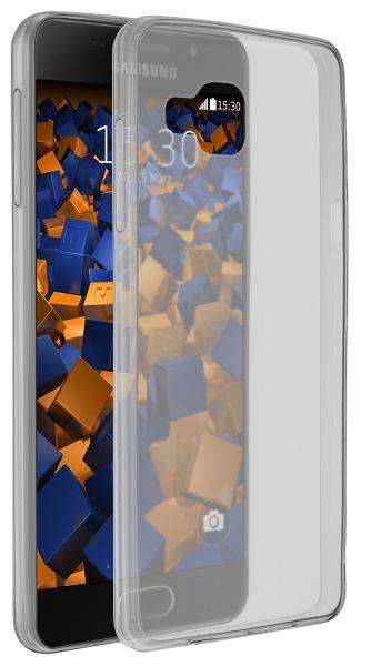 TPU Hülle Ultra Slim schwarz transparent für Samsung Galaxy A5 (2016)