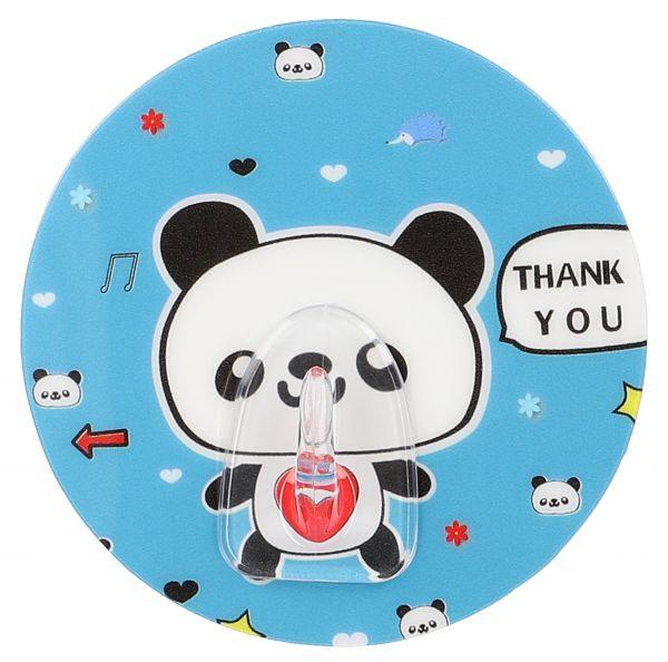 Selbstklebender Handtuchhaken mit Panda-Motiv