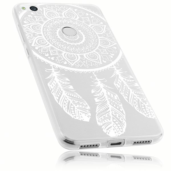 TPU Hülle Ultra Slim transparent Motiv Traumfänger für Huawei P8 Lite (2017)