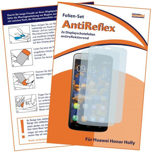 Displayschutzfolie 2 Stck. AntiReflex für Huawei Honor Holly