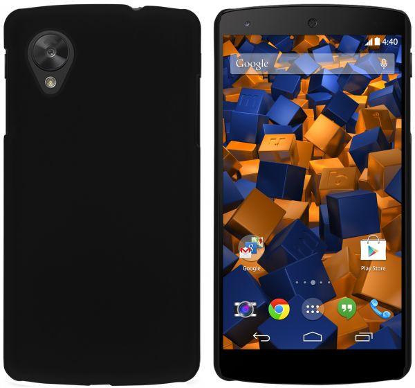 Hard Case Hülle schwarz für LG Google Nexus 5