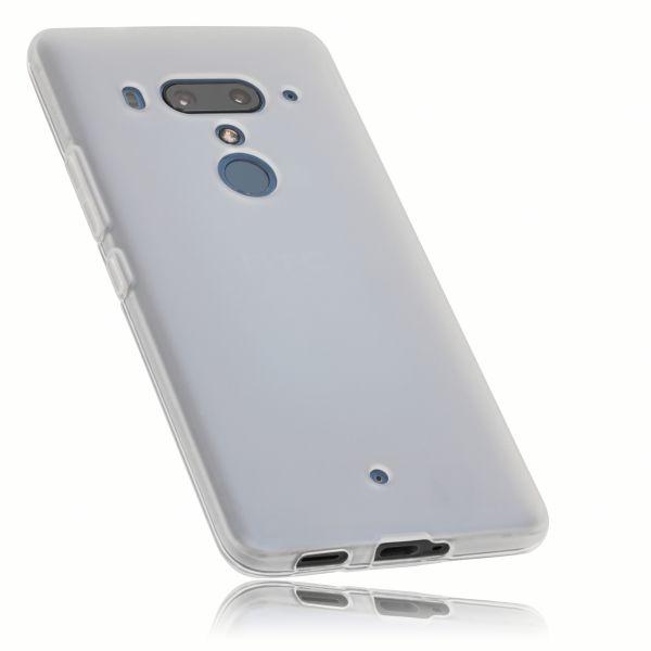 TPU Hülle weiß transparent für HTC U12 Plus