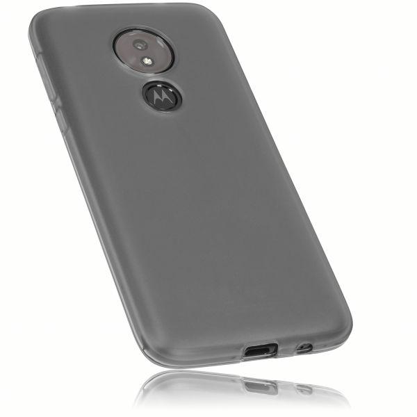 TPU Hülle schwarz transparent für Motorola Moto G7 Power