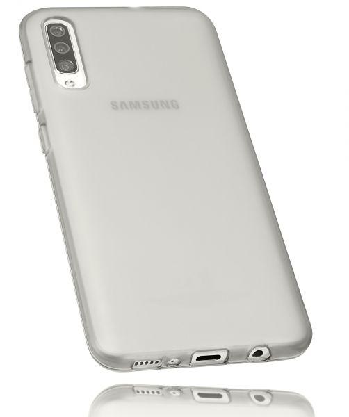 TPU Hülle schwarz transparent für Samsung Galaxy A70