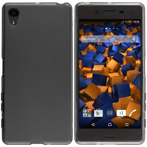 TPU Hülle schwarz transparent für Sony Xperia X