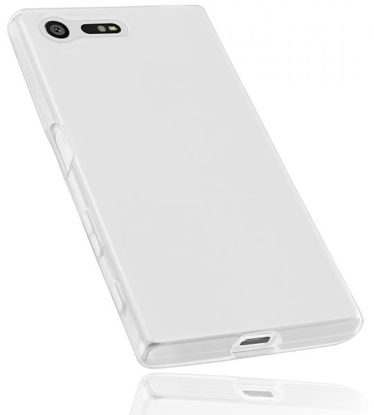 TPU Hülle weiß transparent für Sony Xperia X Compact