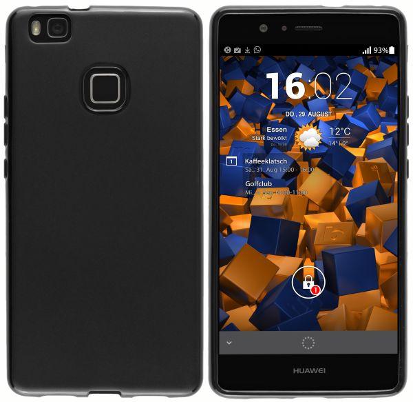 TPU Hülle schwarz für Huawei P9 Lite