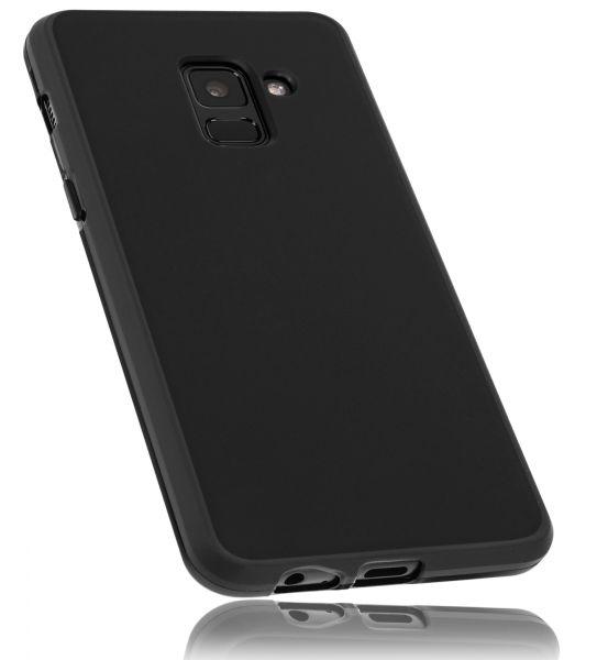 TPU Hülle schwarz für Samsung Galaxy A8 (2018)