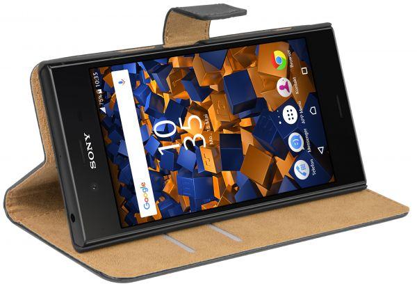 Bookstyle Tasche schwarz Sony Xperia XZ1