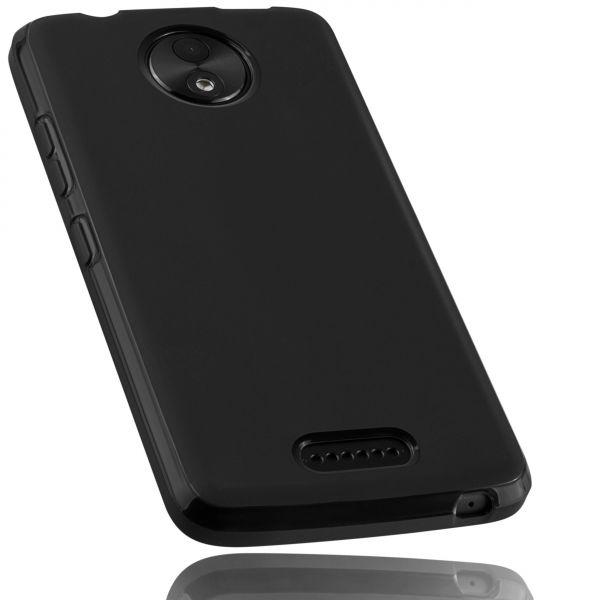 TPU Hülle schwarz für Lenovo Moto C