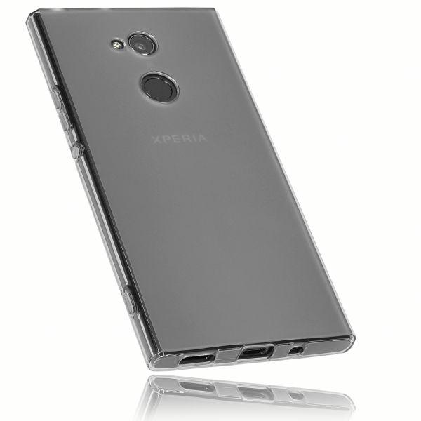 TPU Hülle schwarz transparent für Sony Xperia XA2 Ultra