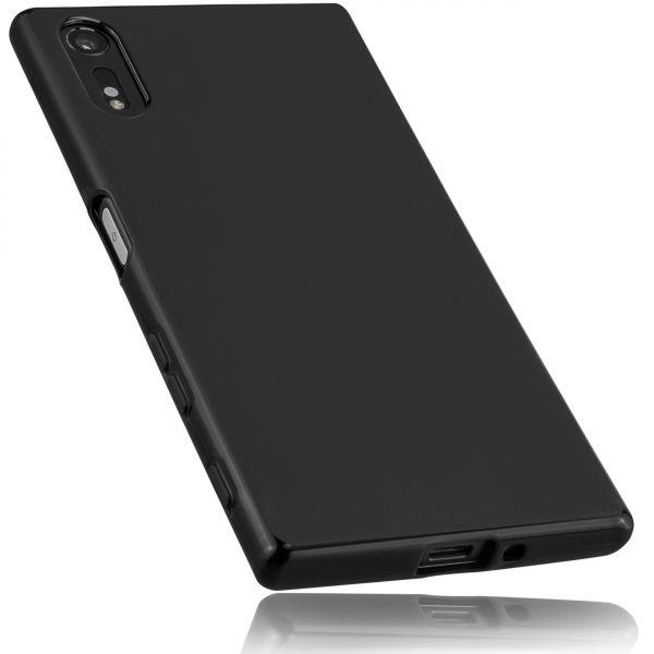 TPU Hülle schwarz für Sony Xperia XZ und XZs