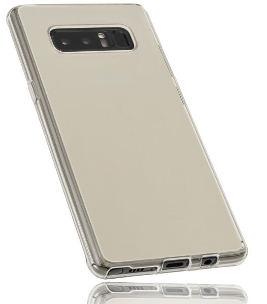TPU Hülle weiß transparent für Samsung Galaxy Note8