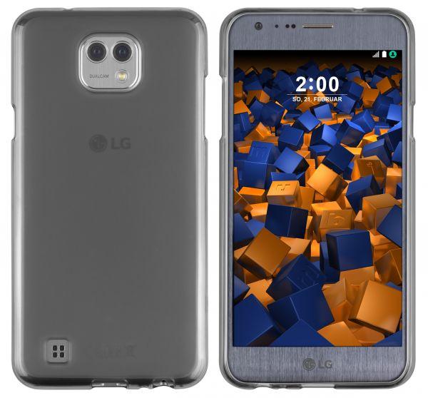 TPU Hülle schwarz transparent für LG X Cam